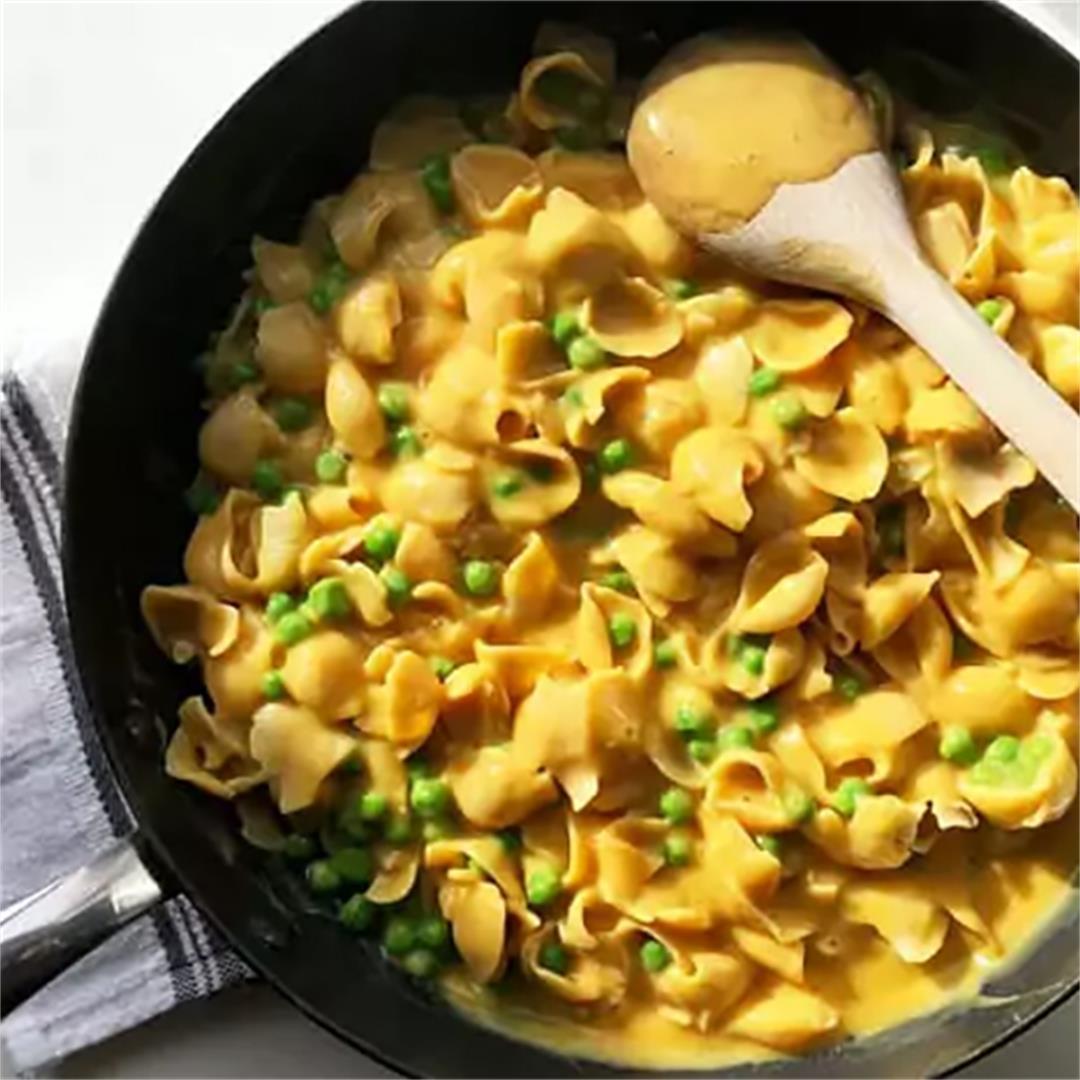 Vegan Healthy Mac and Cheese Recipe