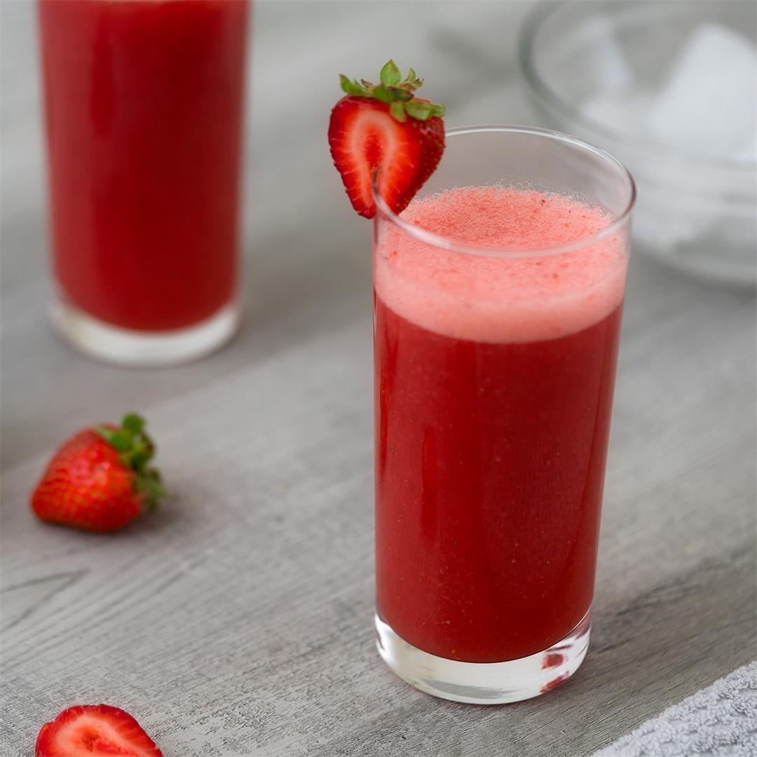 Strawberry Juice Recipe