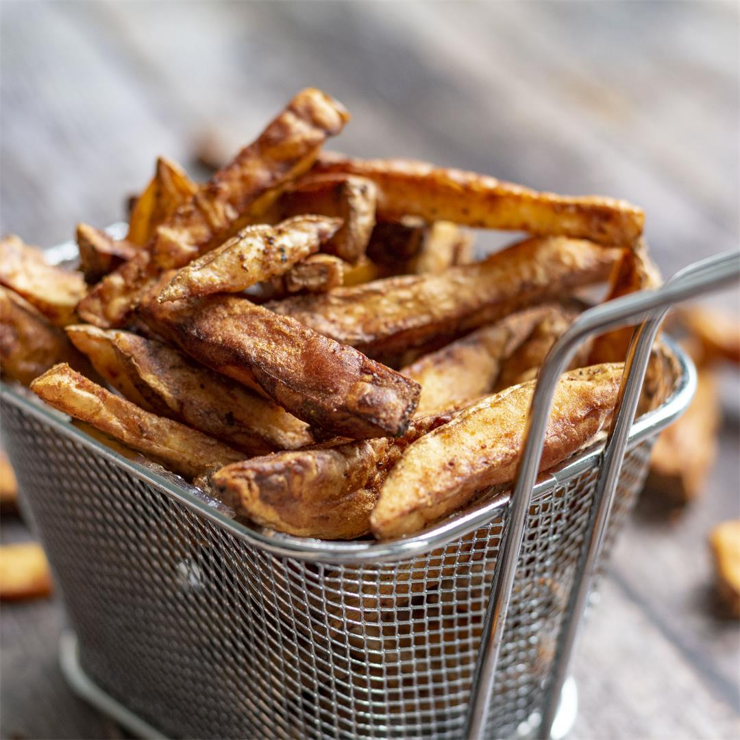 Crispy airfryer french fries