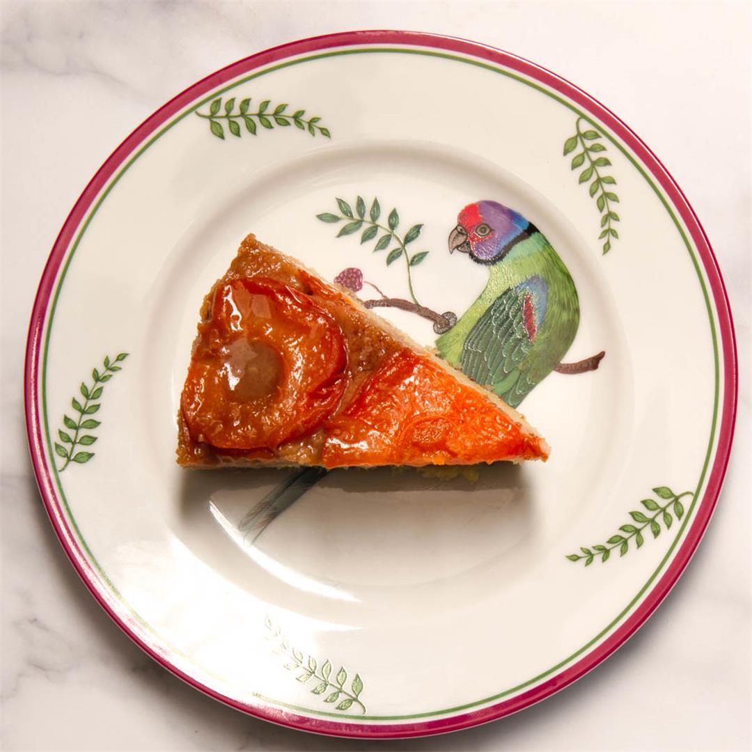 Apricot Upside-Down Cake
