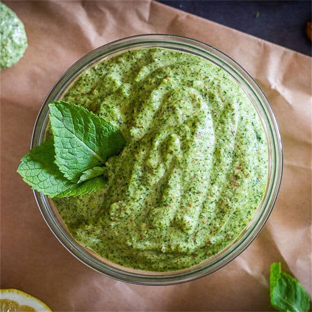 Mint Pesto (Pesto di Menta)