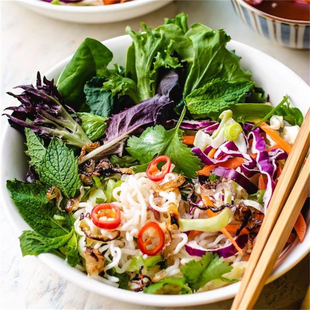 Vietnamese Shirataki Noodle Salad