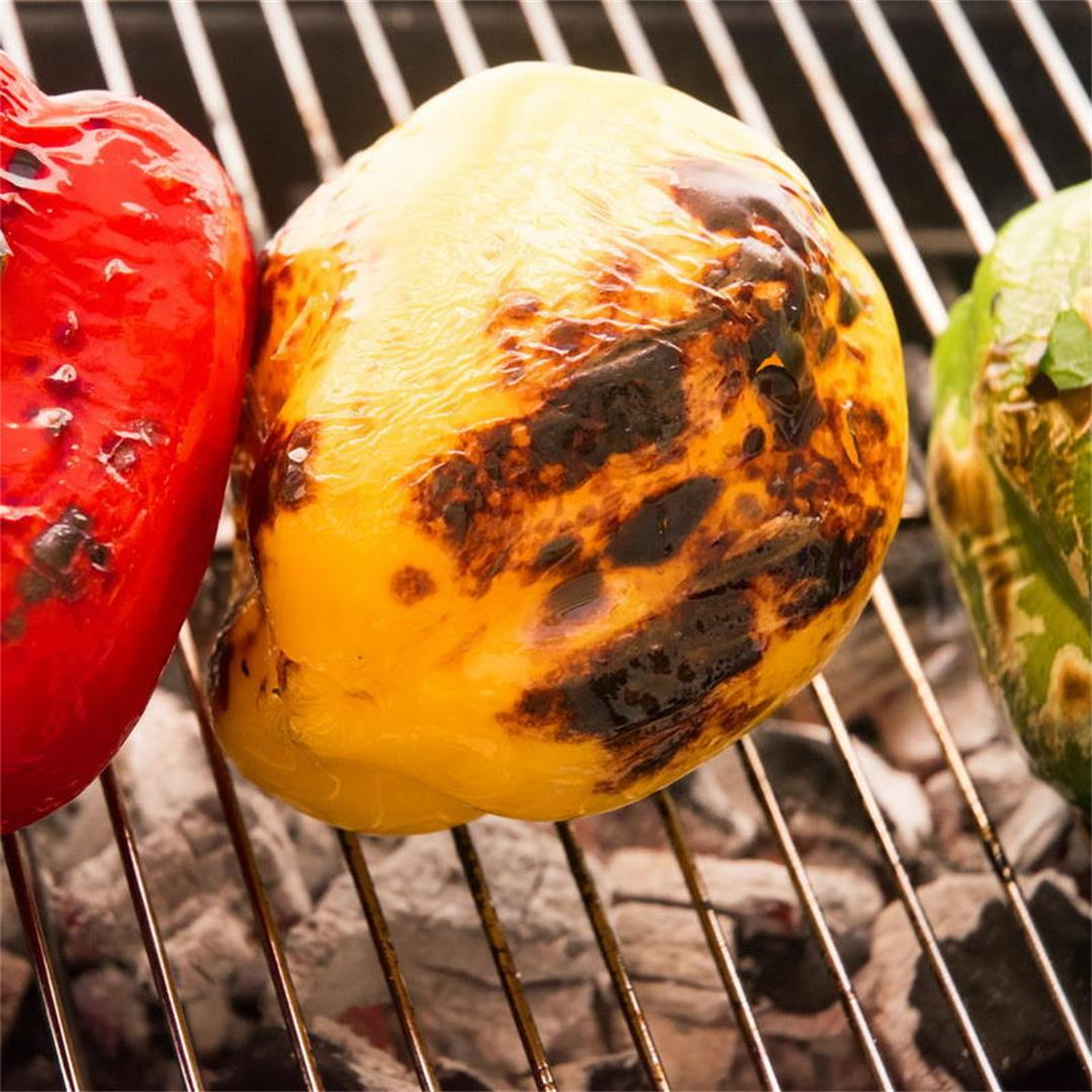 How to Grill Peppers