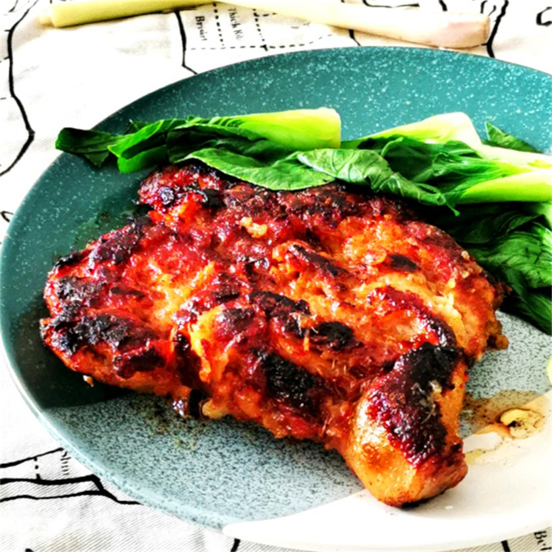 Lemongrass chicken chop