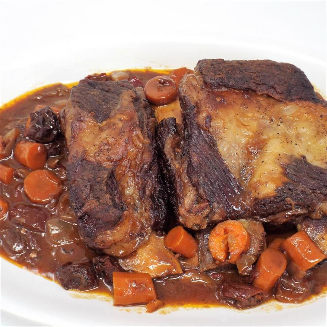 Chipotle Braised Short Ribs