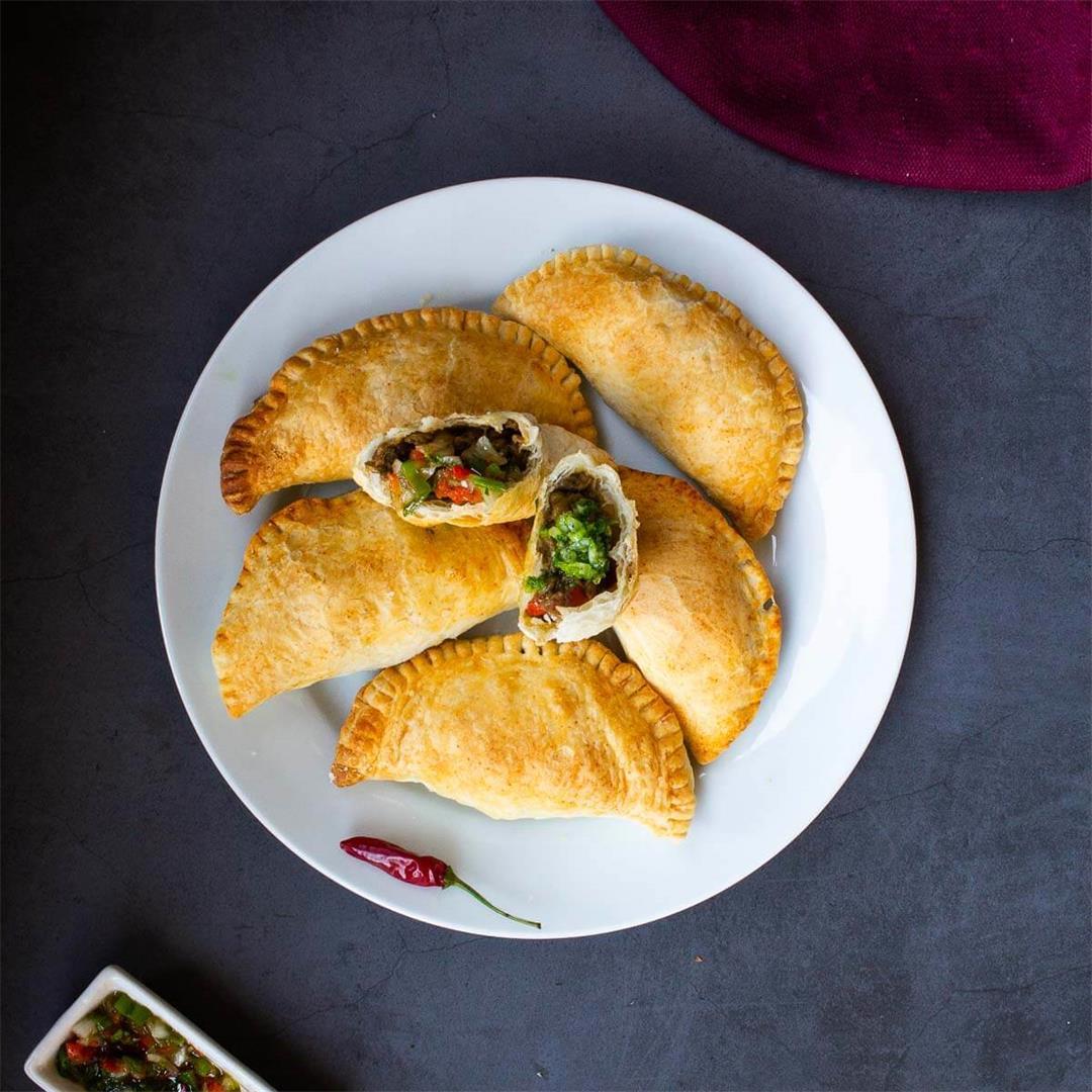 Vegan Empanadas Dough • Vegetarian Our Plant-Based World