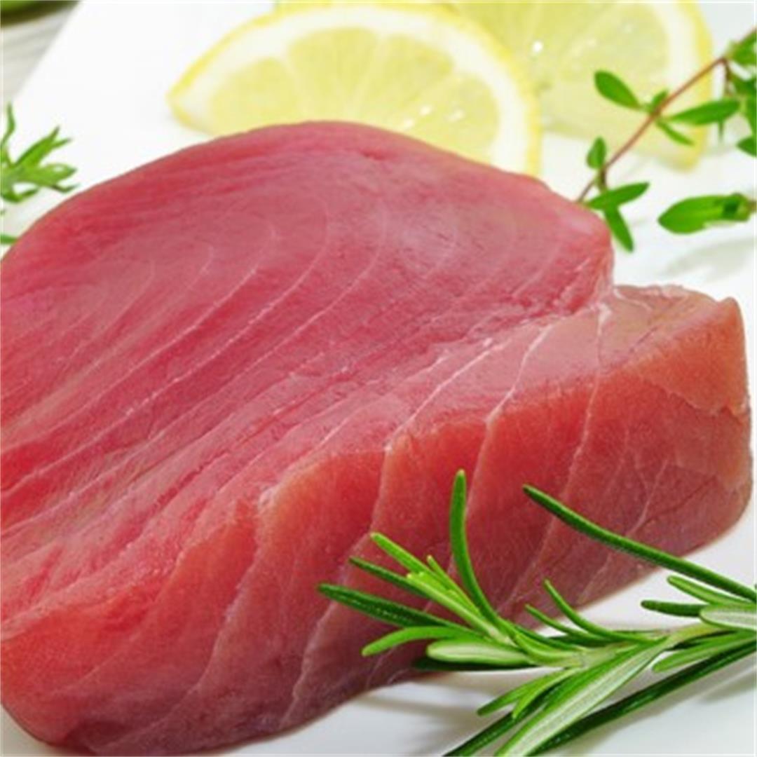 Fresh-Caught Tuna and Fennel