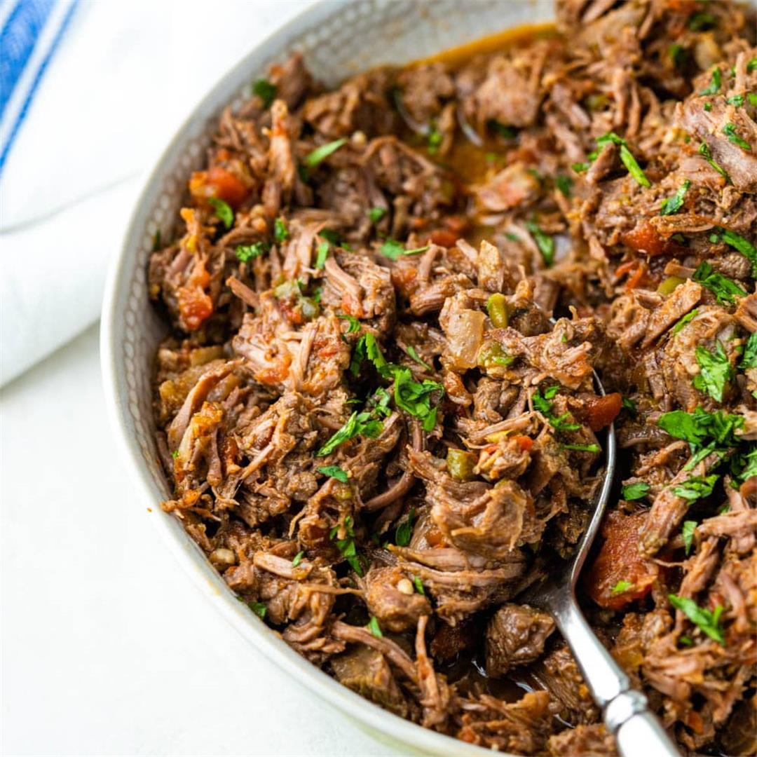 Savory Mexican Shredded Beef