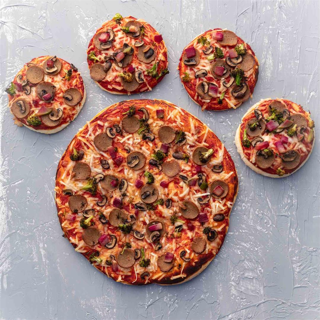 Vegan Party Pizza