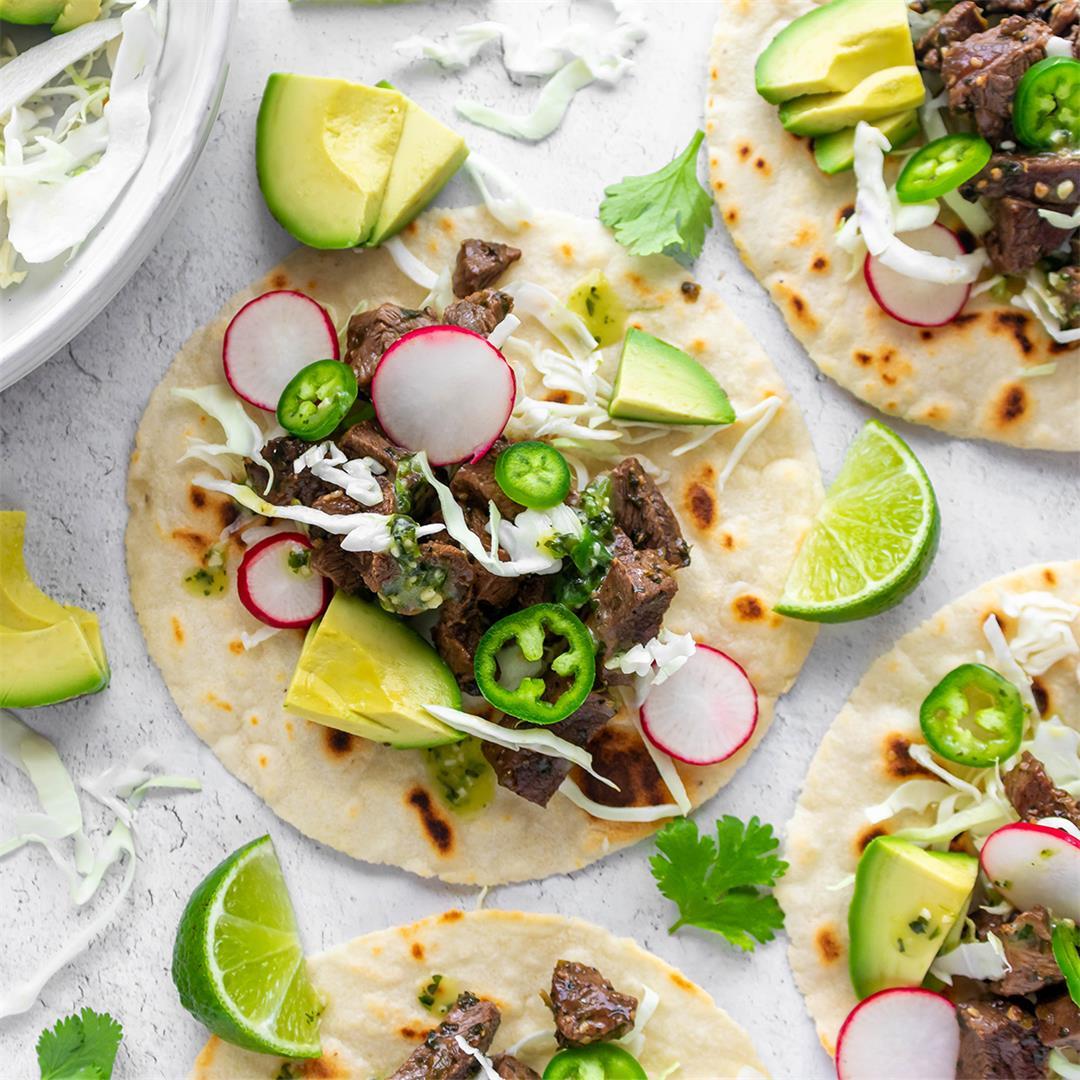 Paleo Carne Asada Tacos