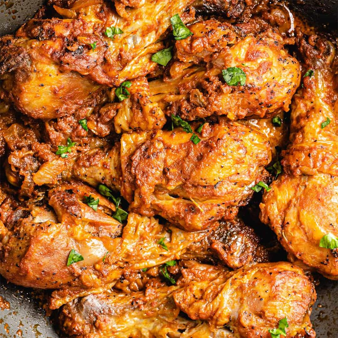 Moambe chicken (Poulet moambe)