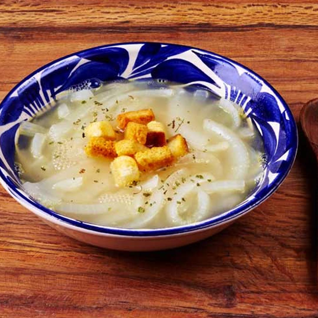 Homestyle Mexican Onion Soup