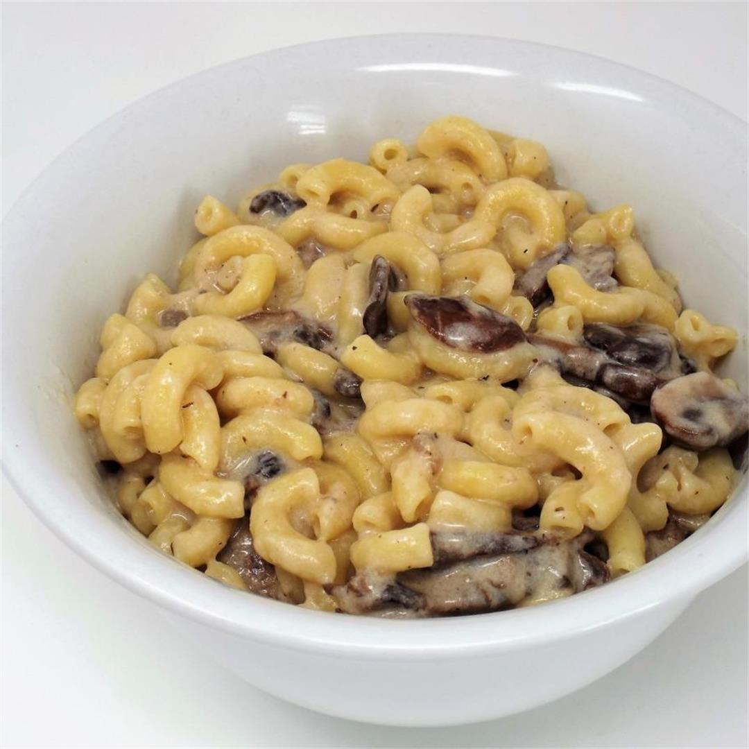 Mushroom Mac & Cheese