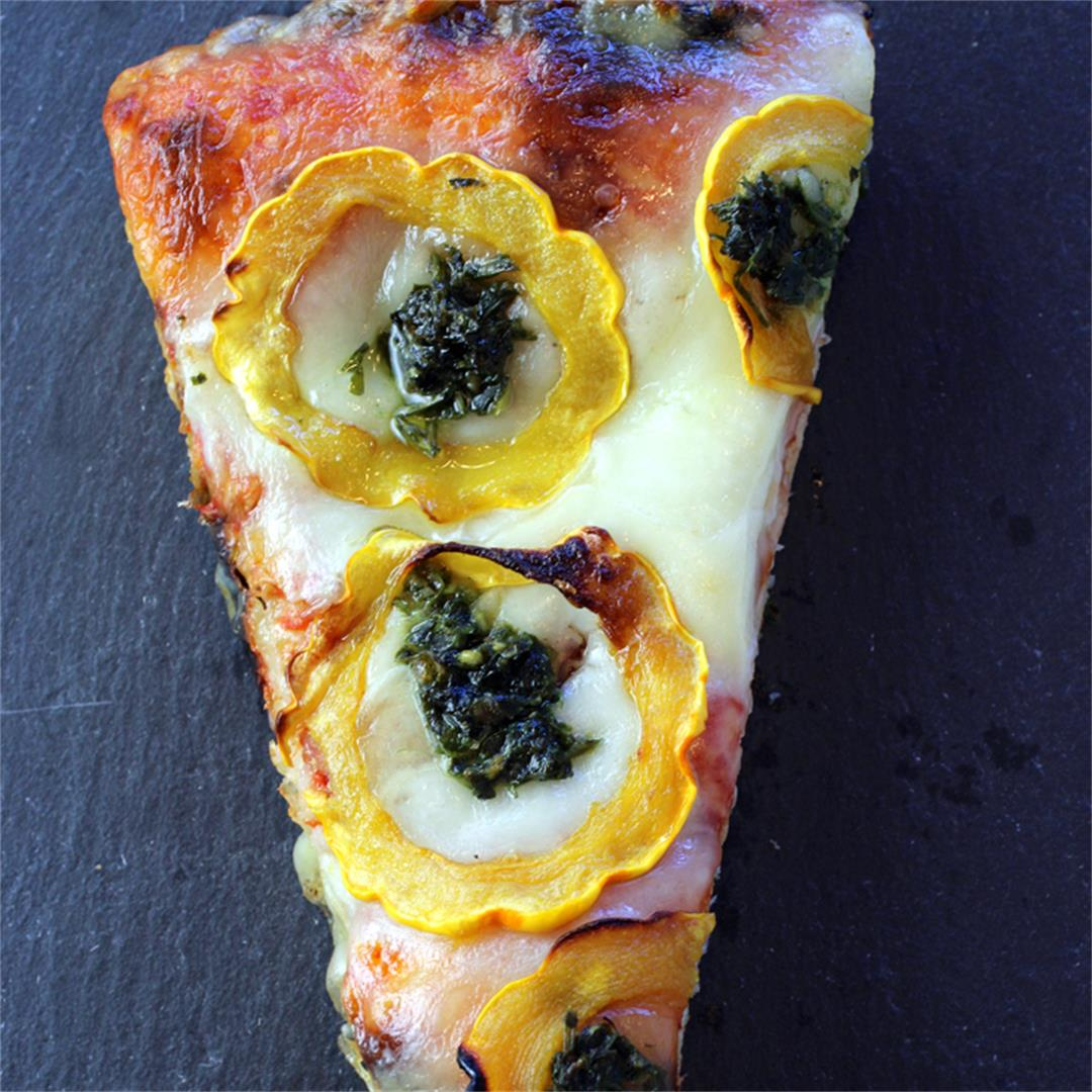Milan-style pizza