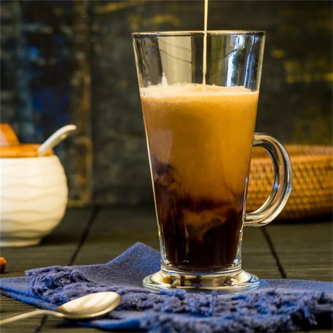 Simple Pumpkin Spice Coffee Creamer