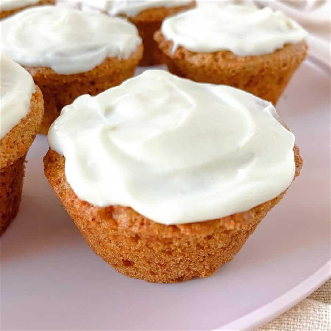 Carrot Cake Protein Muffins