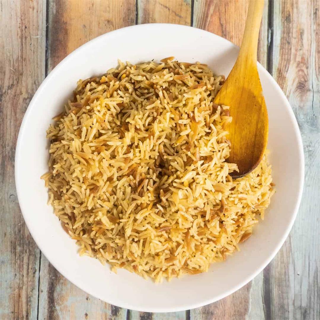 Rice Pilaf in the Instant Pot, Ninja Foodi Pressure Cooker