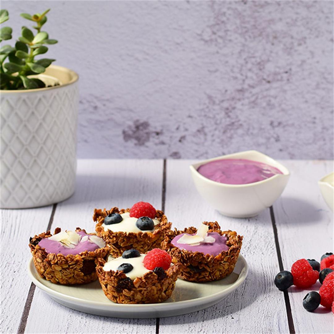 Vegan Granola Breakfast Cups