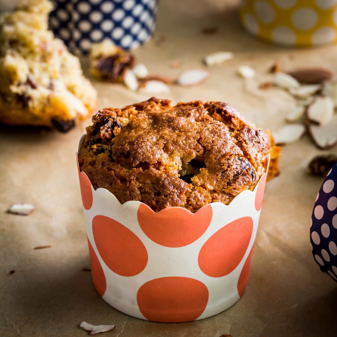 Almond Sourdough Muffin Recipe