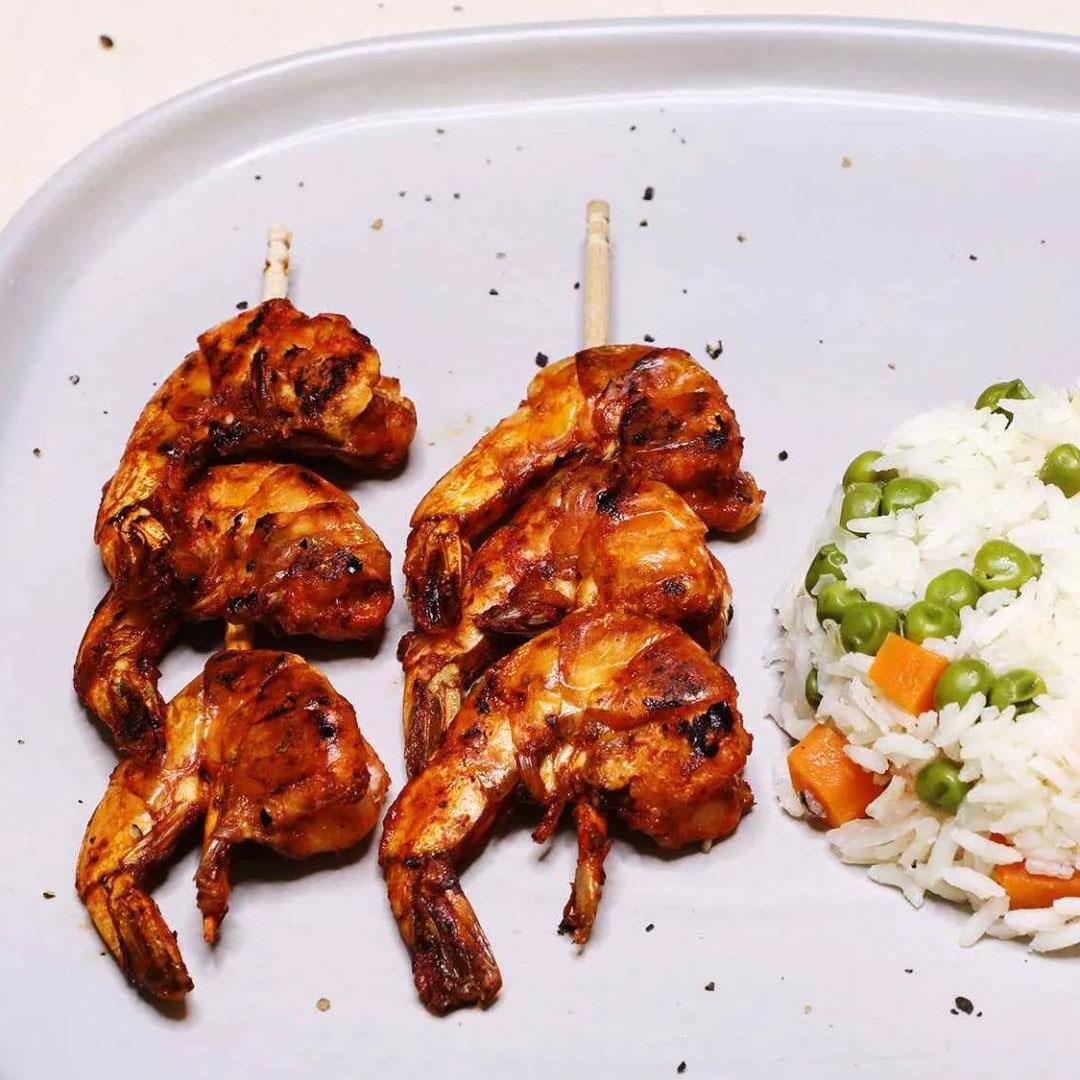 Mexican Shrimp Skewers
