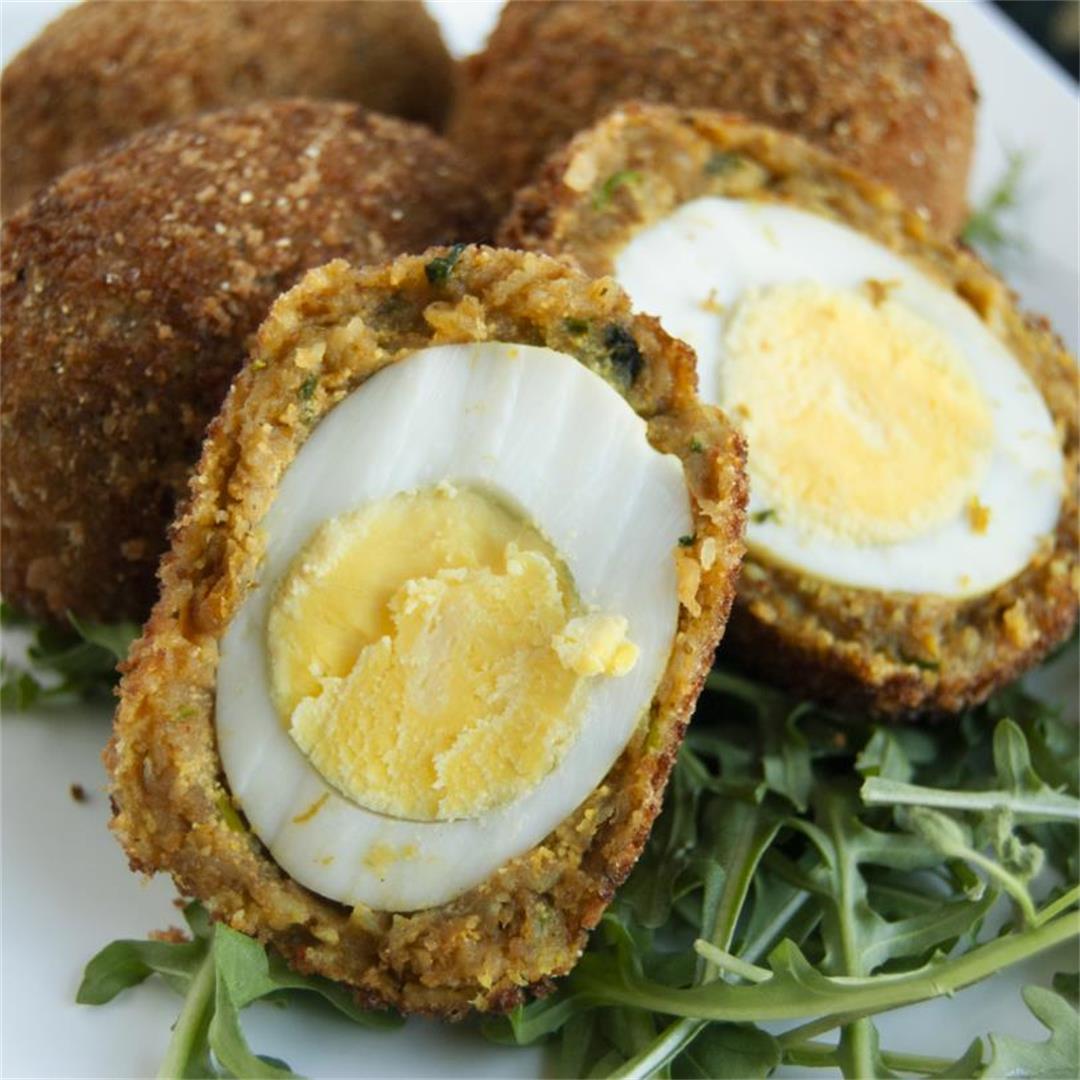 Shrimp Scotch Eggs