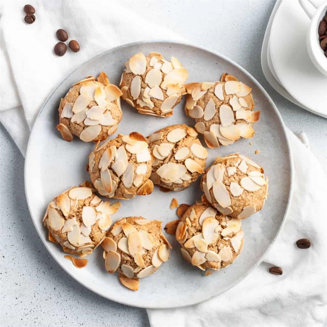 Gluten-Free Coffee Almond Cookies
