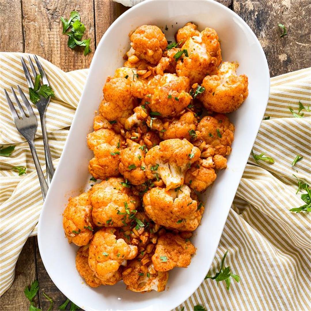 Spanish Garlic Cauliflower   Irresistibly Good & Easy to Make