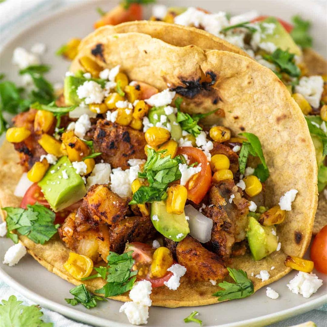 Potato Tacos