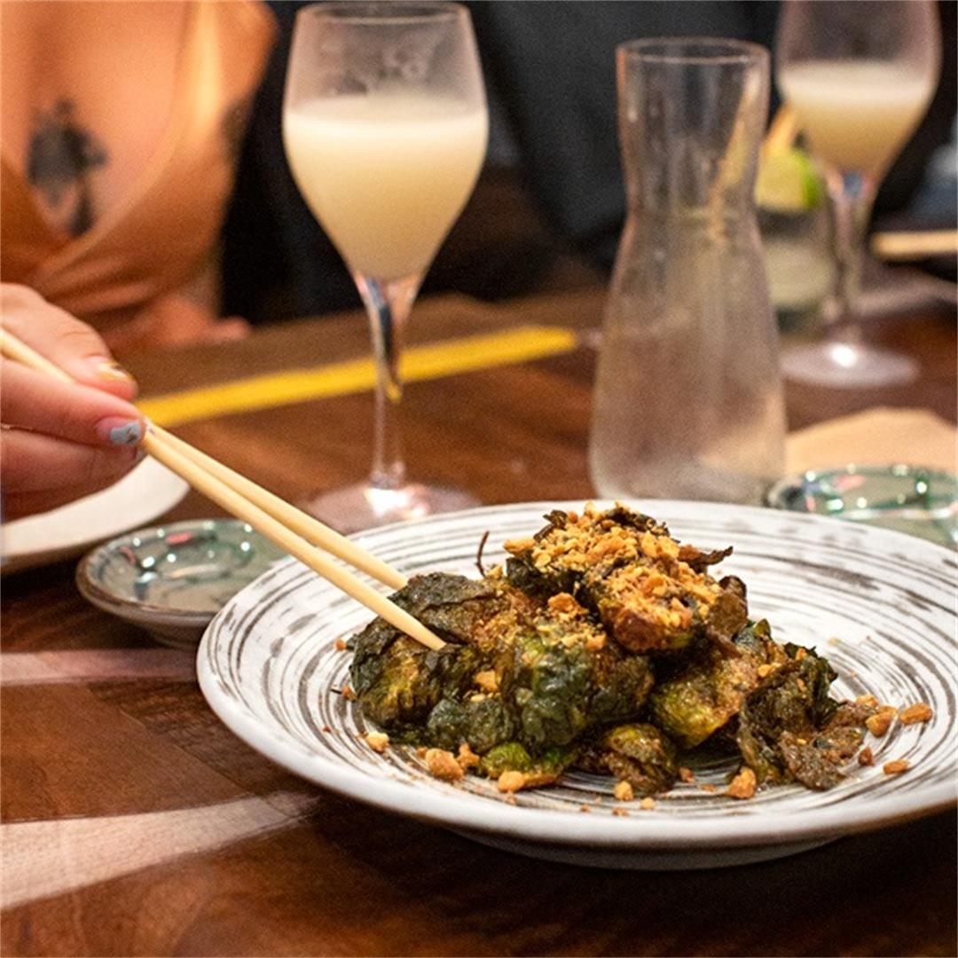 Miso-Yuzu Brussels Sprouts