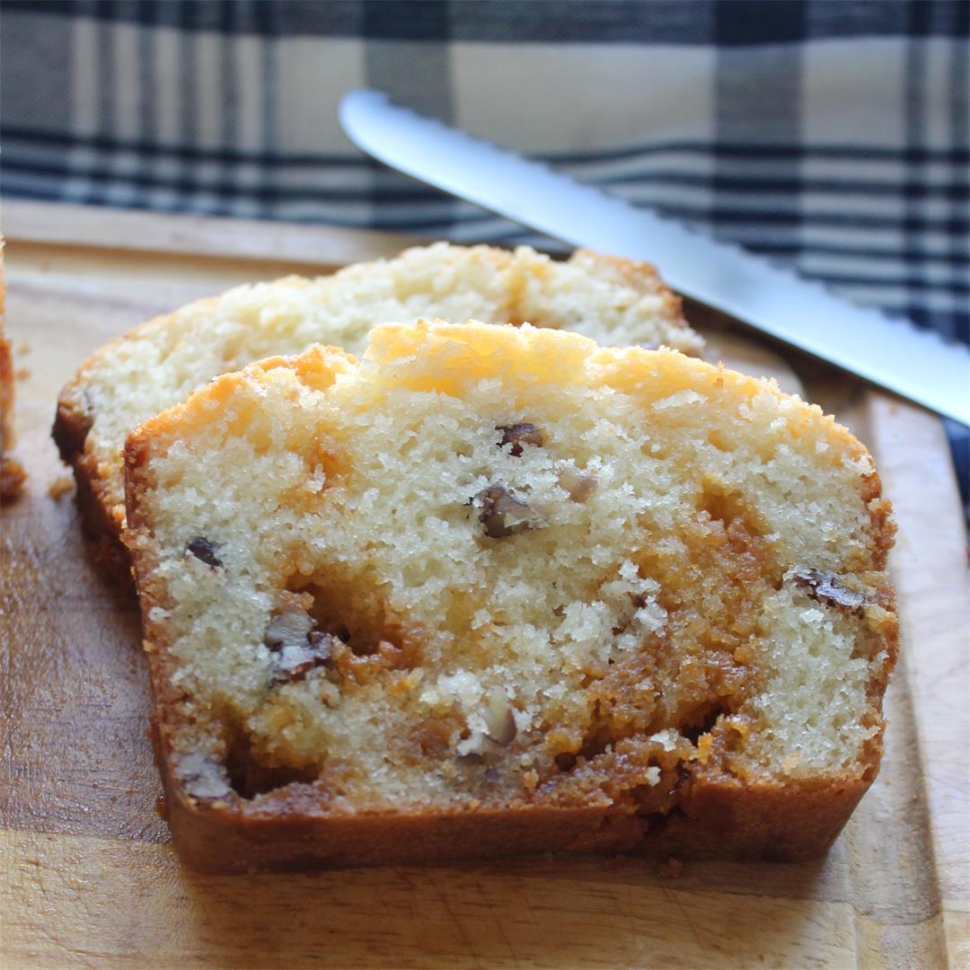 Butterscotch Pecan Loaf – My Recipe Reviews