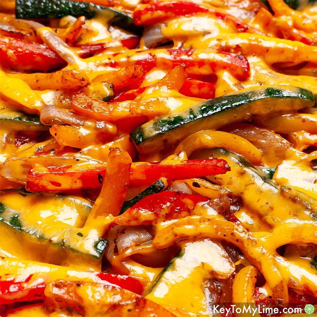 30-Minute Chicken Fajita Casserole