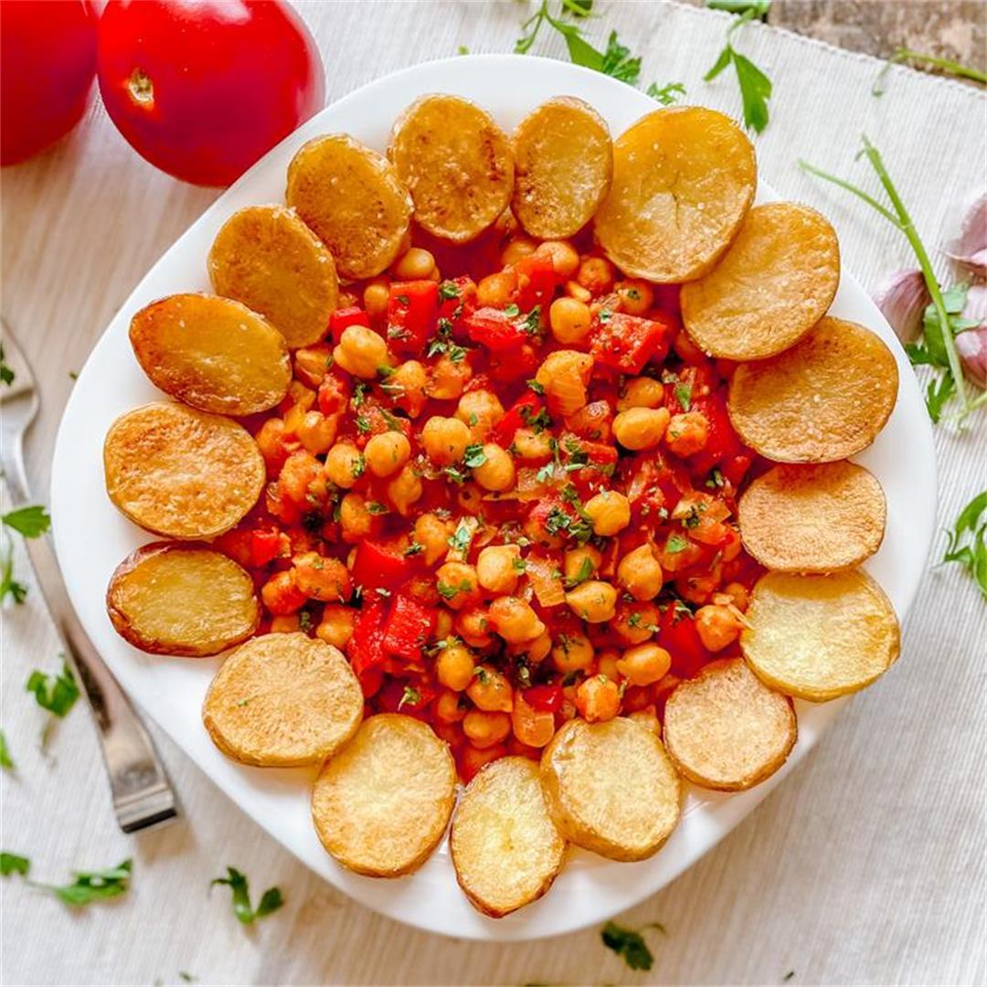 Spain´s Most EPIC Garbanzo Bean Dish   Garbanzas Canarias