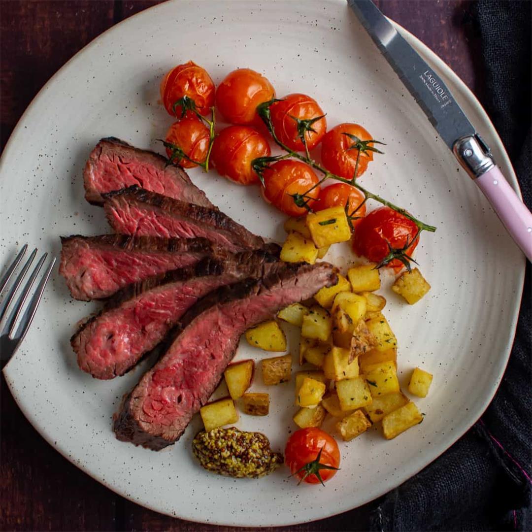 Bavette Steak & Parmentier Potatoes
