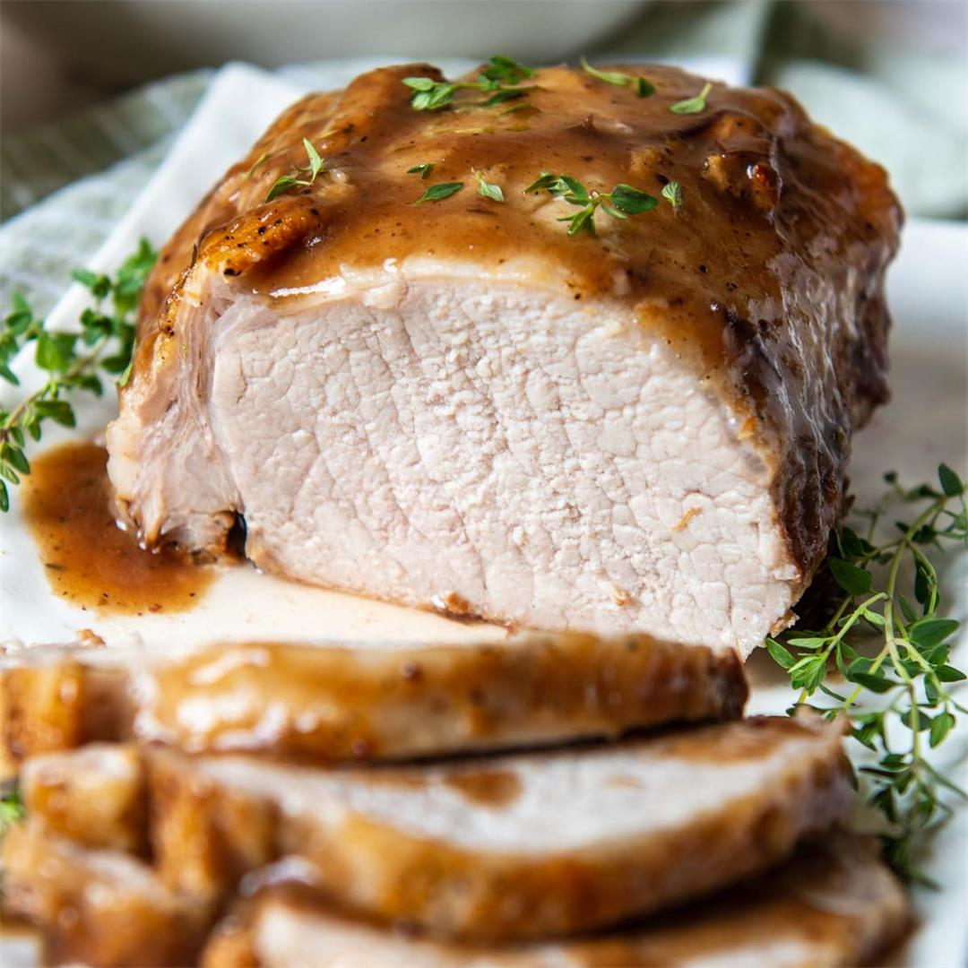 Instant Pot Pork Roast with Gravy