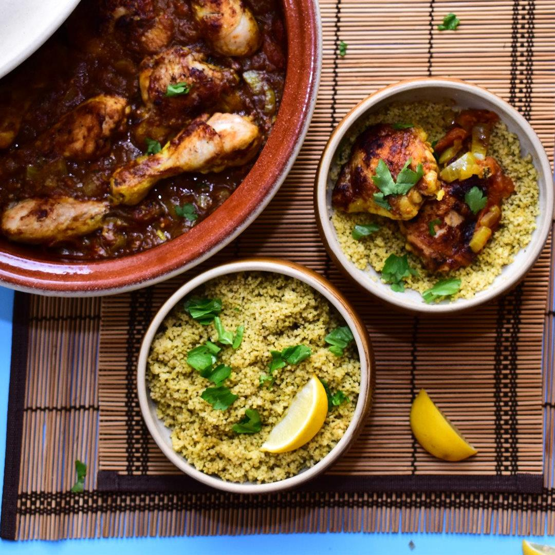 Chicken Tagine with Tomatoes & Honey