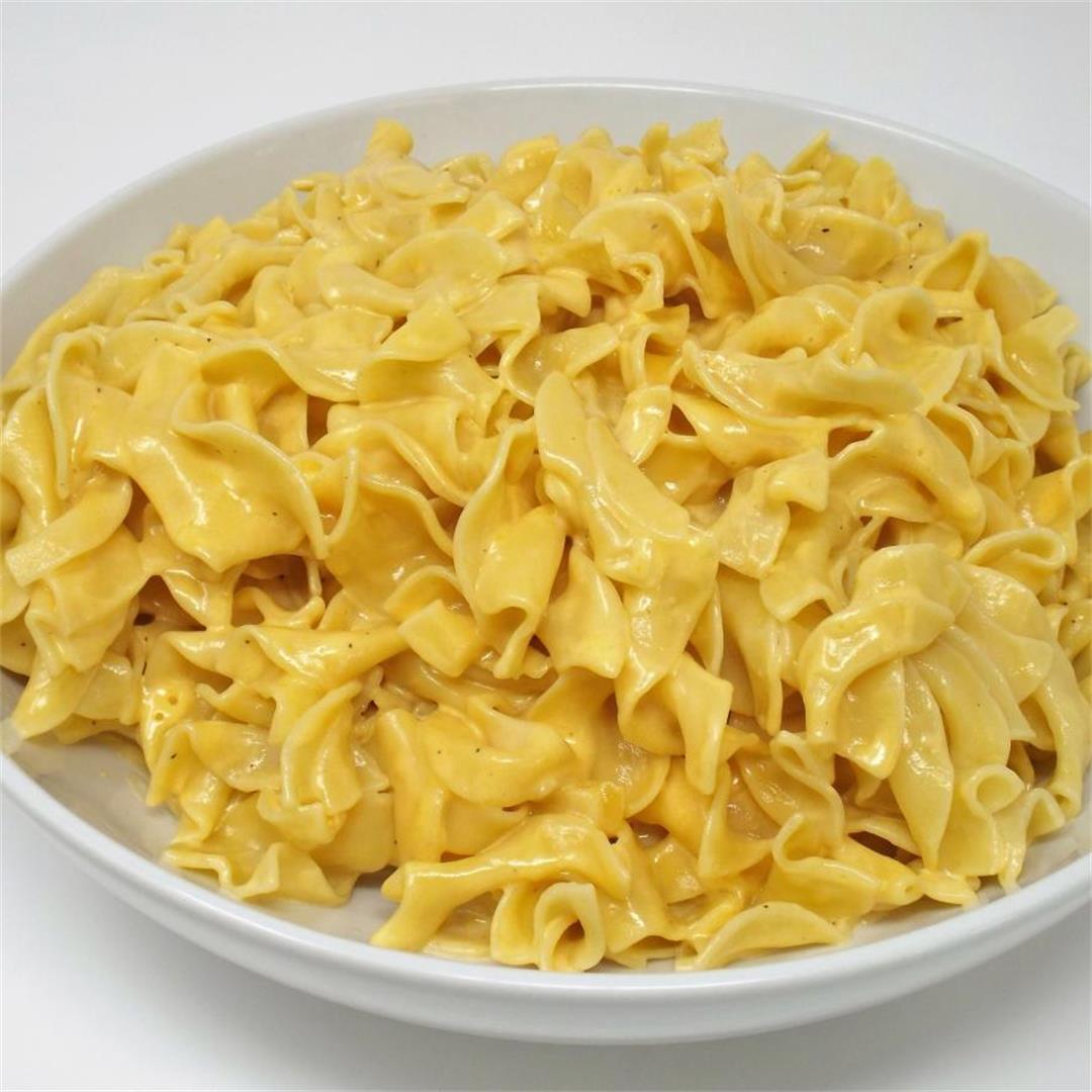 Easy Cheesy Egg Noodles
