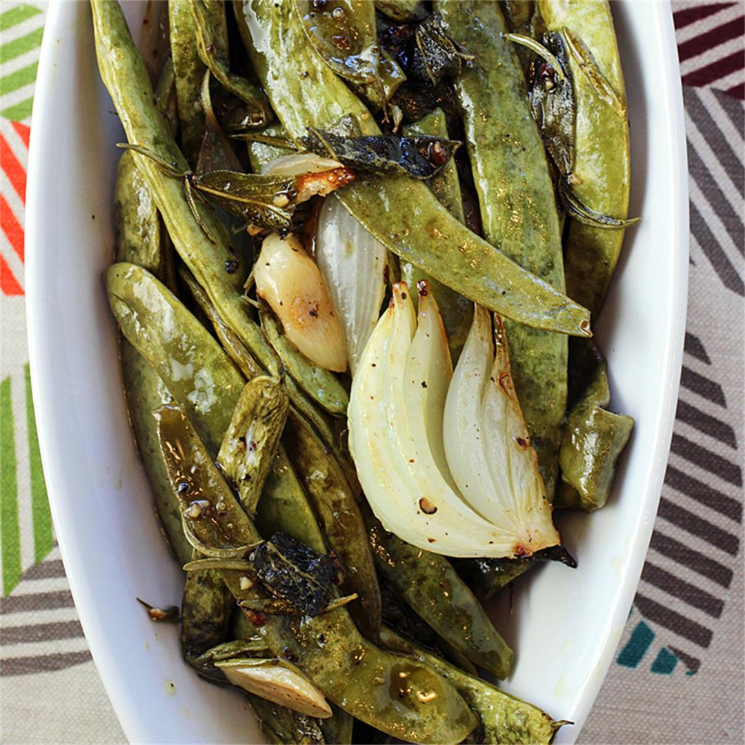 Suzanne Goin's Slow-Roasted Romano Beans