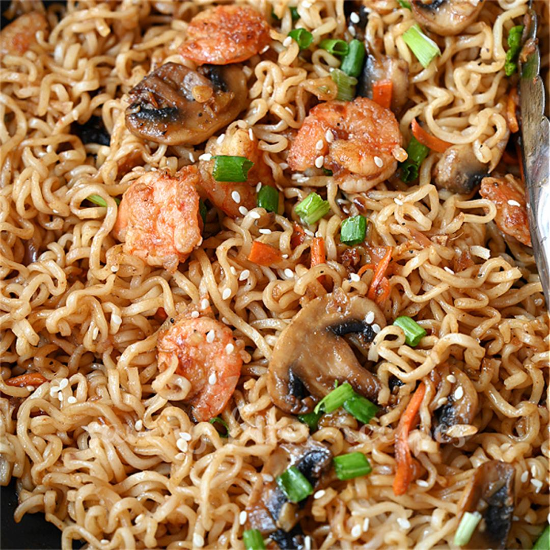 The Best Sesame Ramen Noodles Recipe