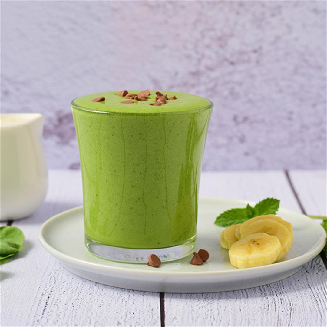 Green Banana Mint Smoothie