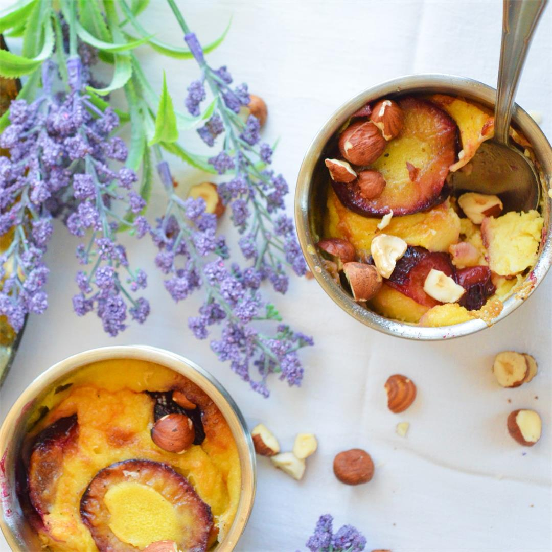 Easy Plum Clafoutis — Tasty Food for Busy Mums