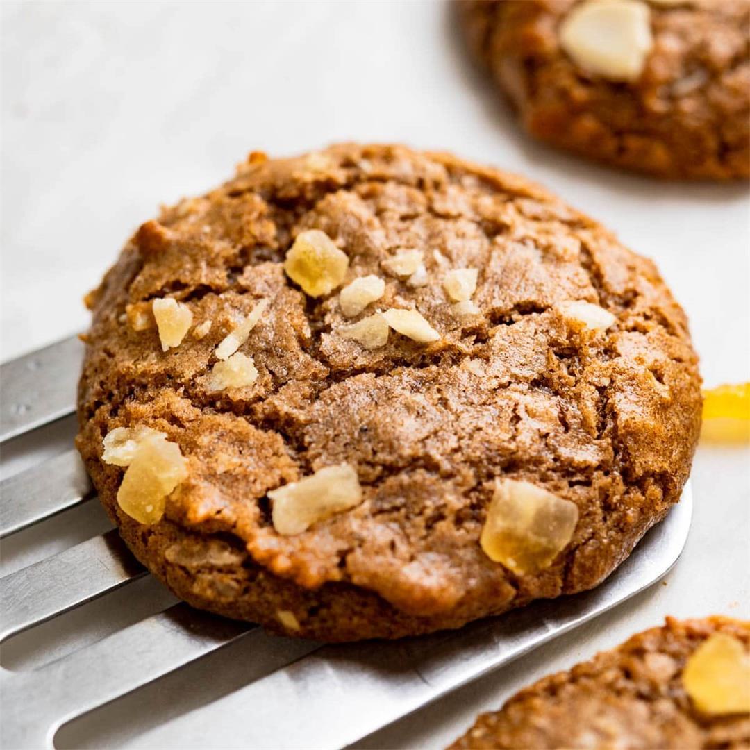 Tropical Brown Sugar Cinnamon Cookies