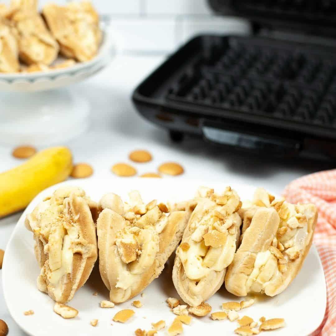 Banana Pudding Tacos