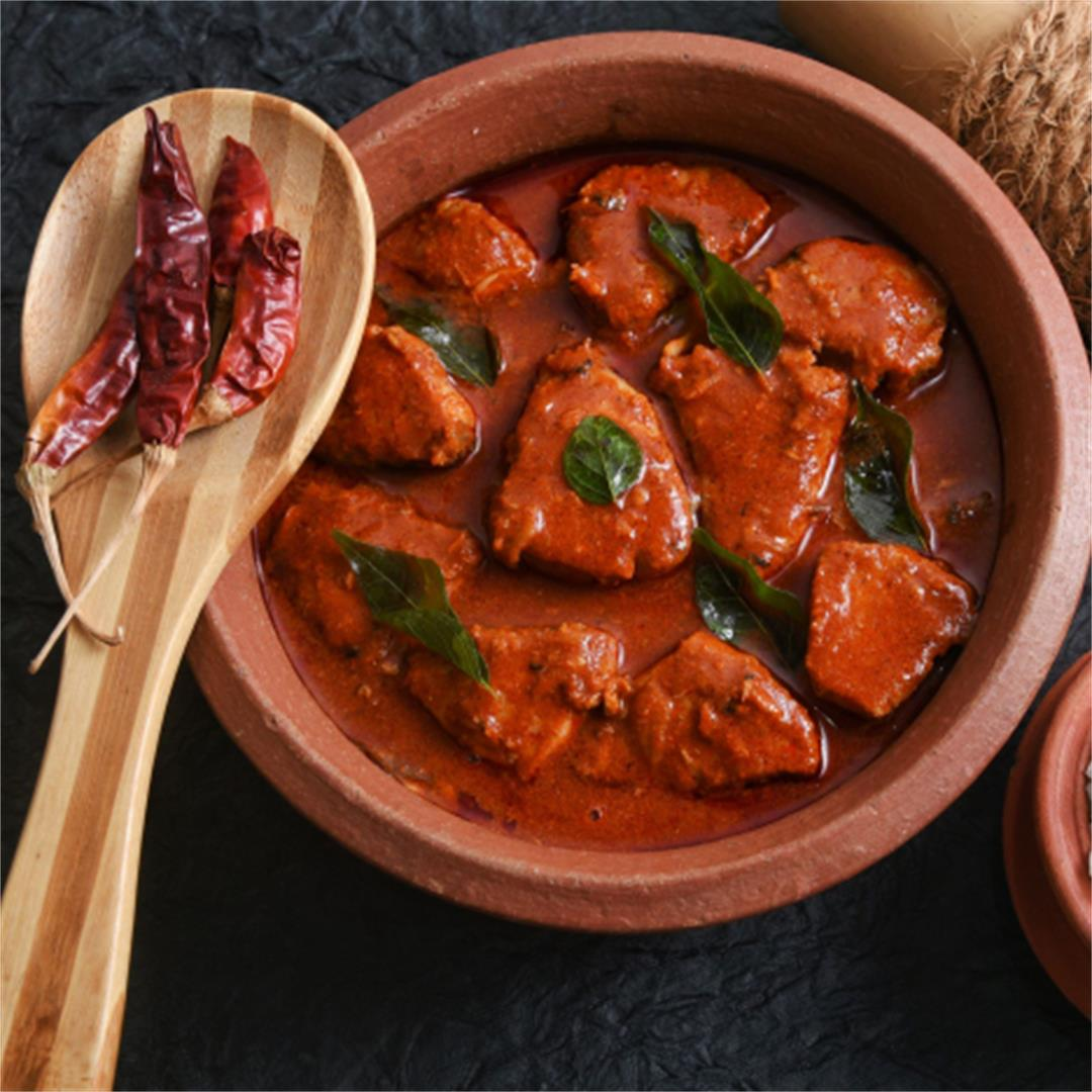 Indian Monk Fish Curry