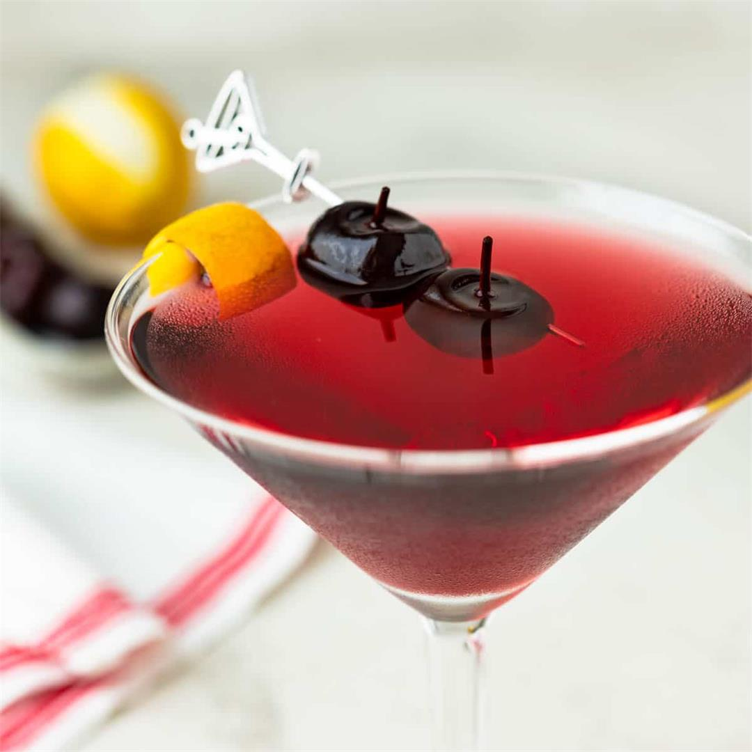 Drunken Cherry Martini