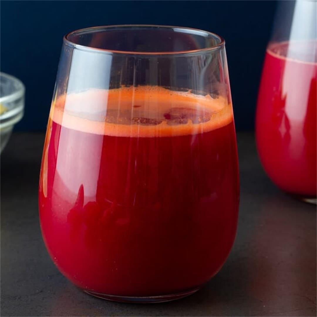 Carrot Beetroot Detox Juice