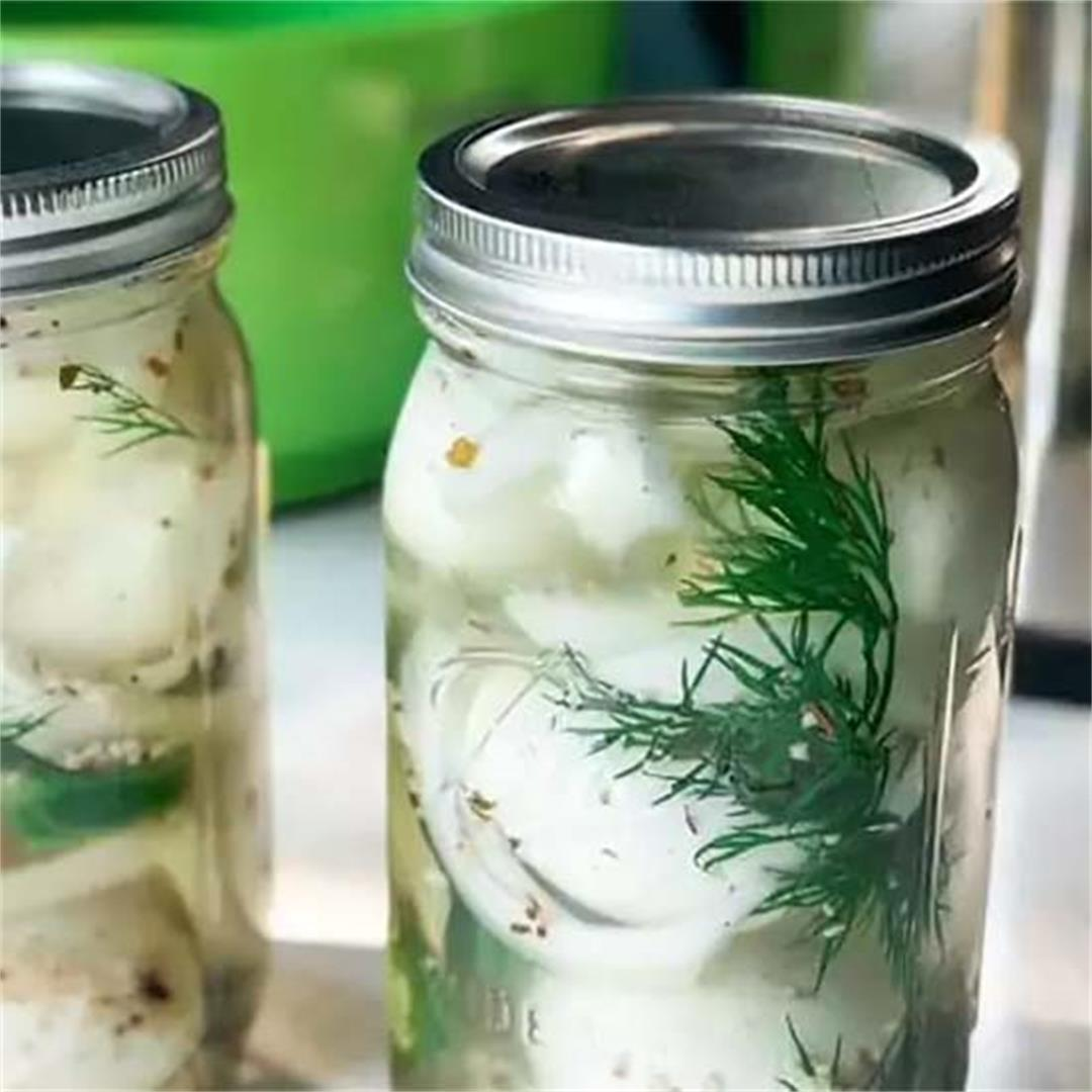 Spicy Pickled Eggs Recipe