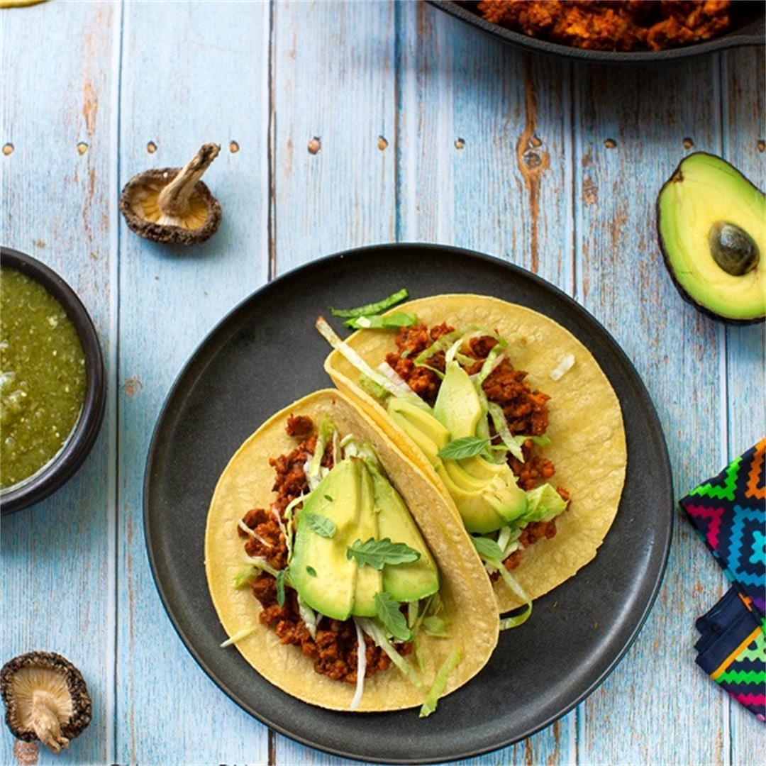 Shiitake Tacos