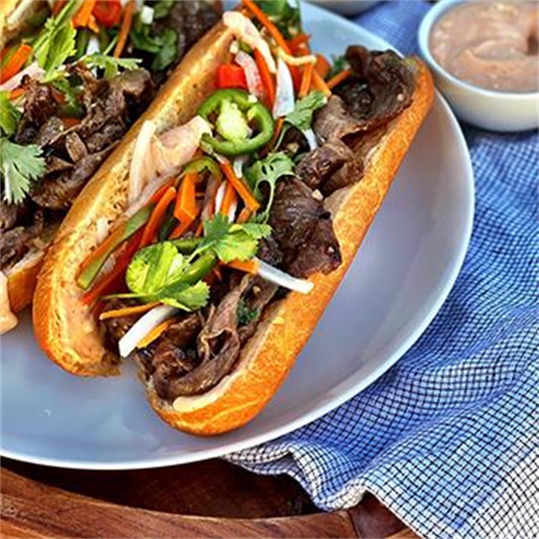 Grilled Wagyu Beef Banh Mi