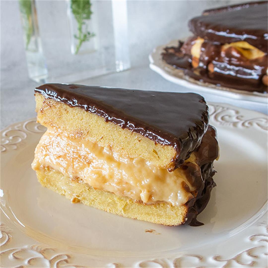Gluten-Free Boston Cream Pie Recipe