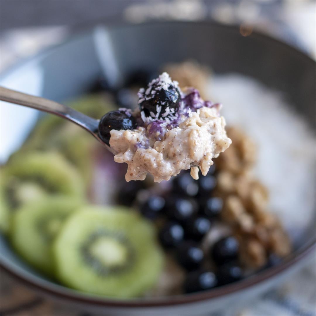 Coconut oatmeal porridge